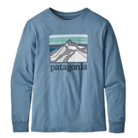 PATAGONIA PATAGONIA LONG SLEEVED GRAPHIC ORGANIC COTTON<br /> T-SHIRT
