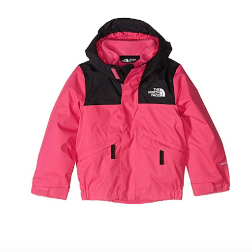 THE NORTH FACE TODDLER SNOWQUEST TRICLIMATE INSULATED JACKET