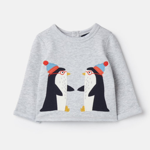JOULES BOO APPLIQUE SWEATSHIRT