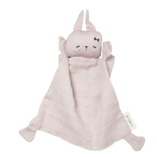 FABELAB ANIMAL CUDDLE BUNNY MAUVE