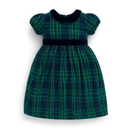 JOJO MAMAN BEBE JOJO MAMAN BEBE CHECKED PARTY DRESS