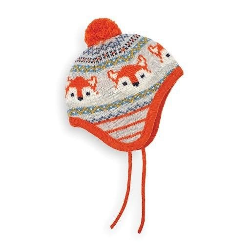 JOJO MAMAN BEBE FOX FAIR ISLE HAT