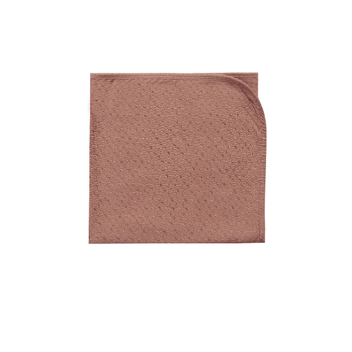 QUINCY MAE ORGANIC POINTELLE COTTON BABY BLANKET