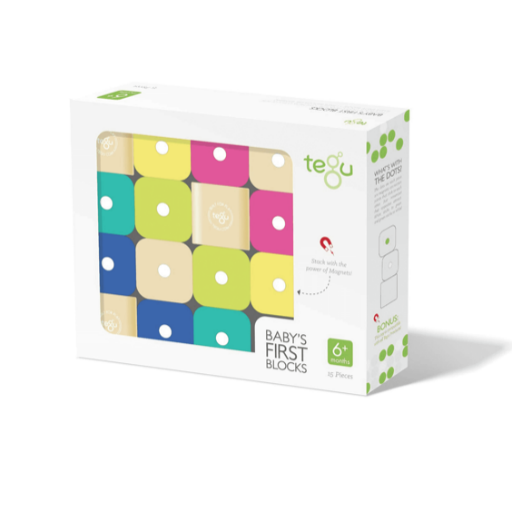 TEGU BABY'S FIRST BLOCKS 15 PIECE SET