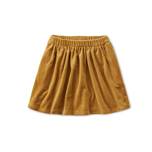 TEA VELOUR TWIRL SKIRT