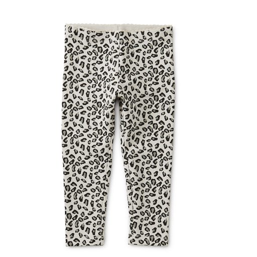 TEA SNOW LEOPARD BABY LEGGINGS
