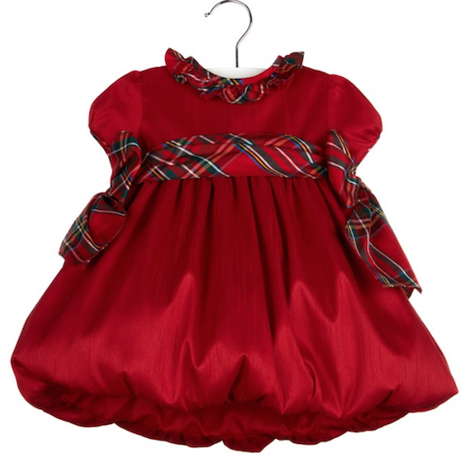 LULI & ME BABY AVIANA DRESS