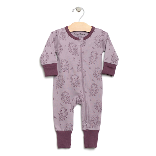 CITY MOUSE OWL ROMPER