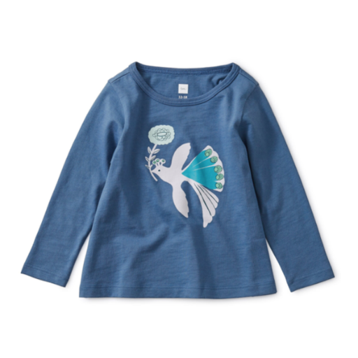 TEA PEACOCK GRAPHIC TEE