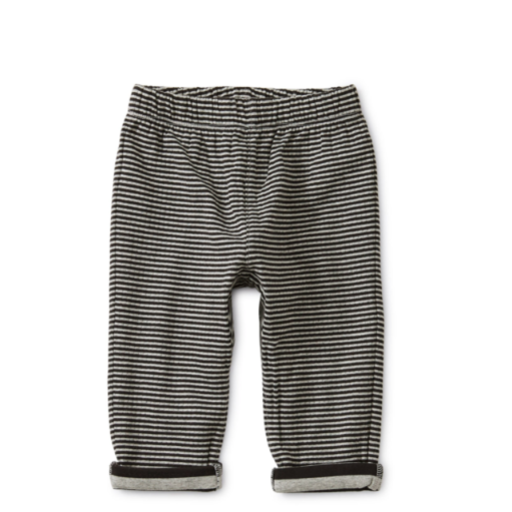 TEA STRIPE DOUBLE KNIT BABY JOGGER SIZE 6-9