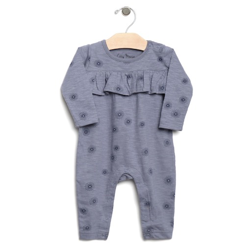 CITY MOUSE SLUB SPIRALS ROMPER