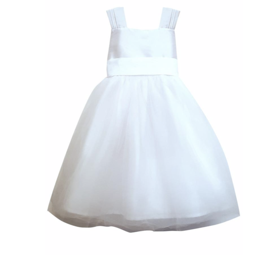 ISABEL GARRETON VENICE MID-CALF TULLE SKIRT GIRLS DRESS