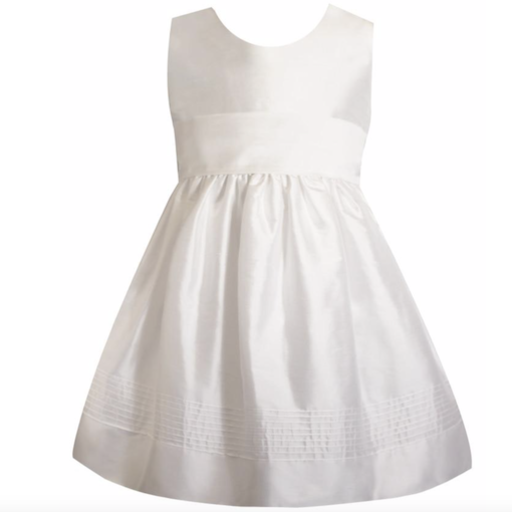 ISABEL GARRETON TIMELESS SILK BELOW KNEE GIRLS DRESS