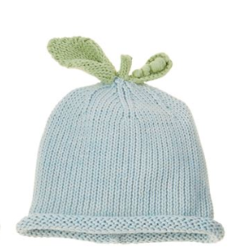 MUD PIE BLUE PEA KNIT HAT