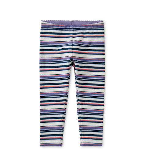 TEA MULTI STRIPE BABY LEGGINGS