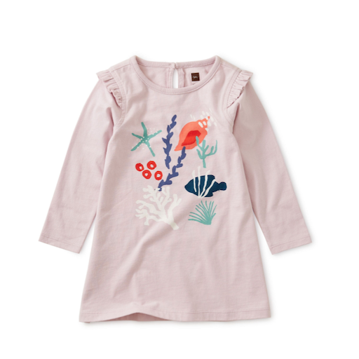 TEA SEA LIFE  BABY DRESS