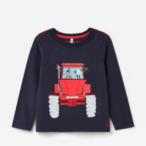 JOULES CHOMP APPLIQUE T-SHIRT
