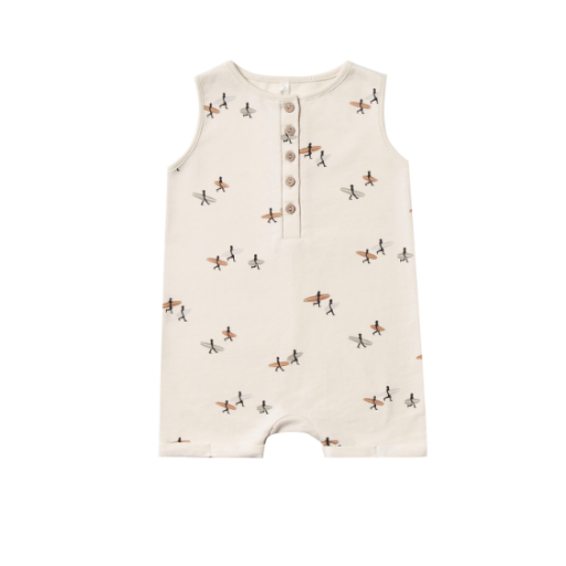 RYLEE AND CRU SURFER DAVIS ROMPER