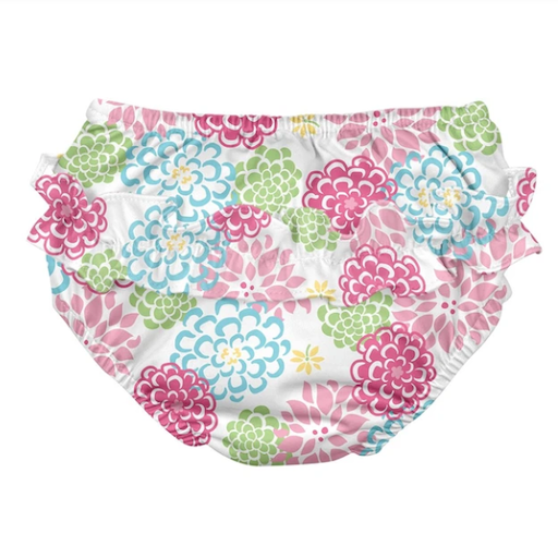 IPLAY INC RUFFLE SNAP REUSEABLE SWIM DIAPER