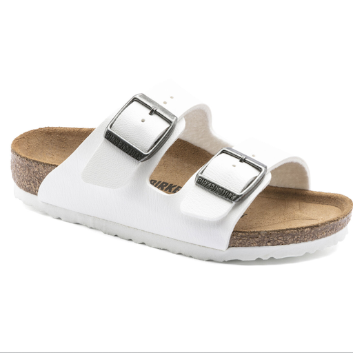 BIRKENSTOCK ARIZONA KIDS WHITE