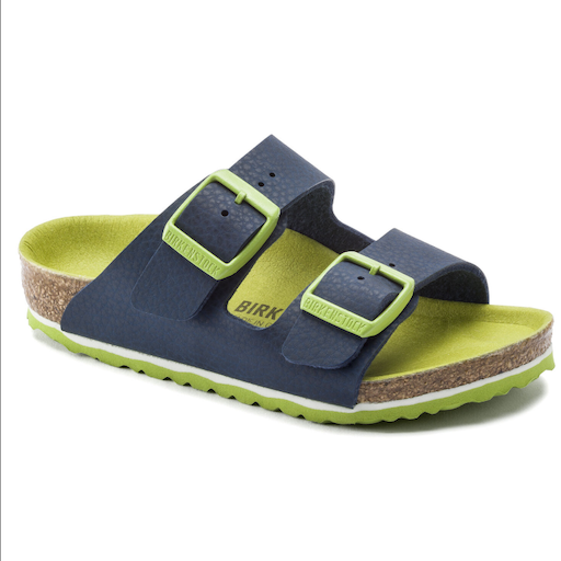 BIRKENSTOCK ARIZONA KIDS DESERT SOIL VIBRANT BLUE