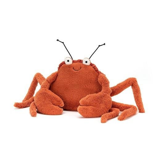 JELLYCAT INC CRISPIN CRAB