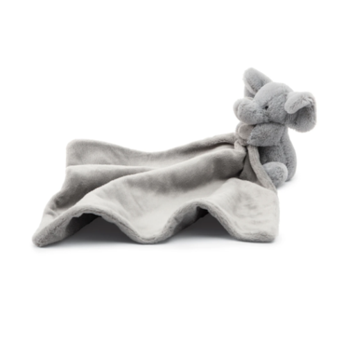 JELLYCAT INC GRAY ELEPHANT SOOTHER