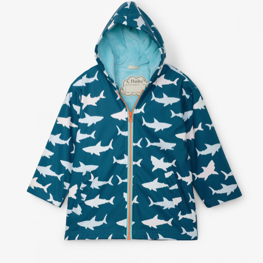 HATLEY GREAT WHITE SHARKS COLOR CHANGING SPLASH JACKET