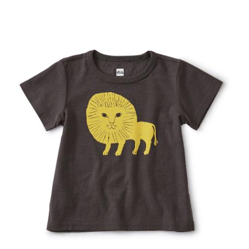 TEA LION CUB BABY TEE