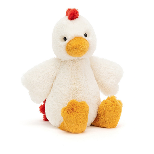 JELLYCAT INC BASHFUL CHICKEN MEDIUM