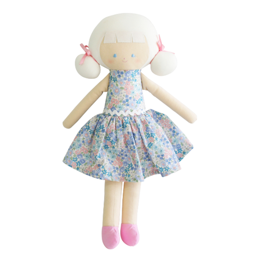 ALIMROSE AUDREY  DOLL LIBERTY BLUE