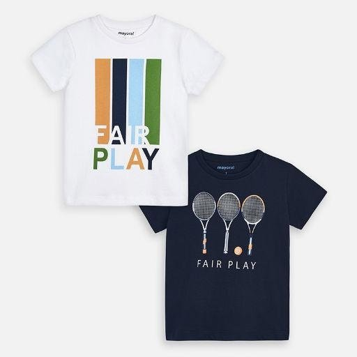MAYORAL USA TENNIS T-SHIRT SET