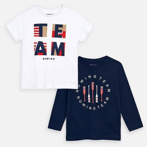 MAYORAL USA TEAM ROWING T-SHIRT SET