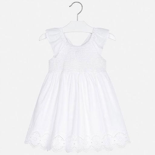 MAYORAL USA EYELET DRESS
