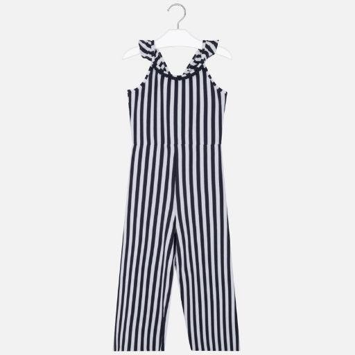 MAYORAL USA STRIPED JUMPSUIT