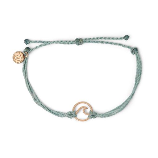 Pura Vida Bracelets Rose Gold Wave
