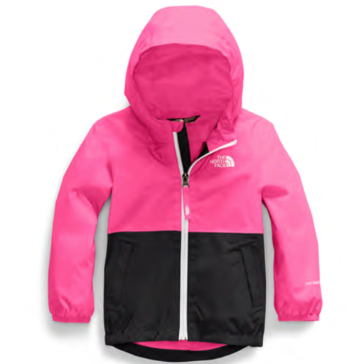 THE NORTH FACE TODDLER ZIPLINE RAIN JACKET MR. PINK