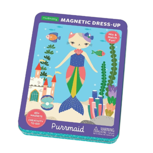 CHRONICLE BOOKS PURRMAID MAGNETIC TIN