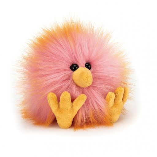 JELLYCAT INC CRAZY CHICK PINK & ORANGE