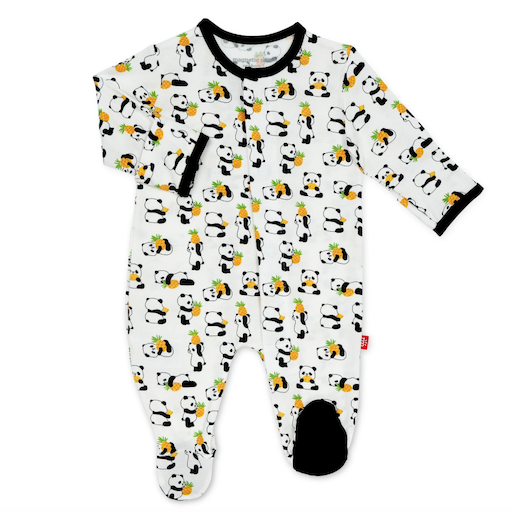 MAGNIFICENT BABY PUDGY PINEAPPLE MODAL MAGNETIC FOOTIE