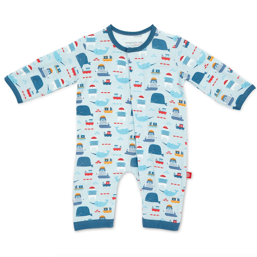 MAGNIFICENT BABY OH BUOY! MODAL MAGNETIC COVERALL