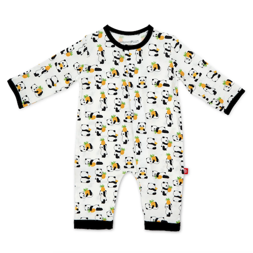 MAGNIFICENT BABY PUDGY PINEAPPLE MODAL MAGNETIC COVERALL