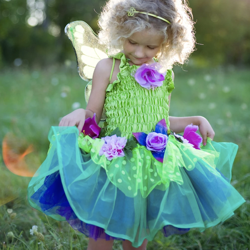 CREATIVE EDUCATION OF CANADA FAIRY BLOOMS DELUXE DRESS