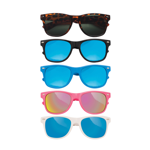 TEENY TINY OPTICS KIT RETRO MIRRORED SUNGLASSES