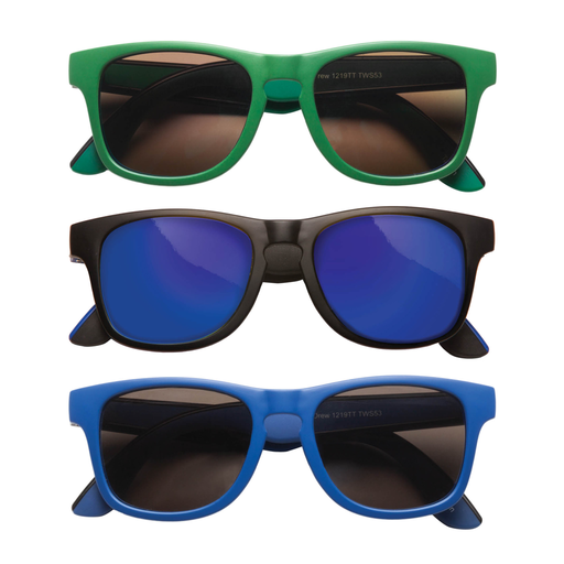 TEENY TINY OPTICS DREW TWO TONE RETRO SUNGLASSES