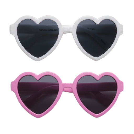 TEENY TINY OPTICS TODDLER HEART SUNGLASSES