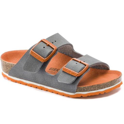 BIRKENSTOCK ARIZONA KIDS DESERT SOIL VIBRANT GRAY