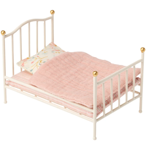 MAILEG VINTAGE BED, OFF WHITE