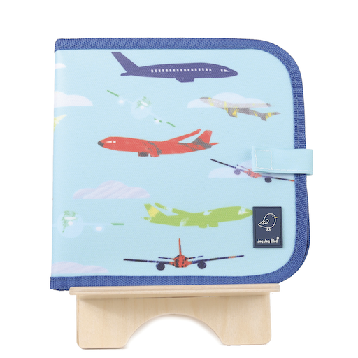 JAQ JAQ BIRD DOODLE IT & GO ERASABLE BOOK- AEROPLANE