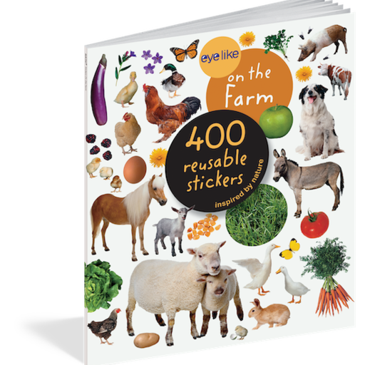 WORKMAN EYELIKE ON THE FARM 400 REUSABLE STICKERS INSPIRED BY NATURE